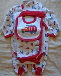Набор для новорожденного 5 предметов, Kids